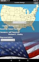 Screenshot of Free US Citizenship Test 2015