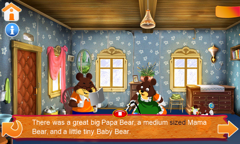 Goldilocks And The Three Bears Android Apps On Google Play