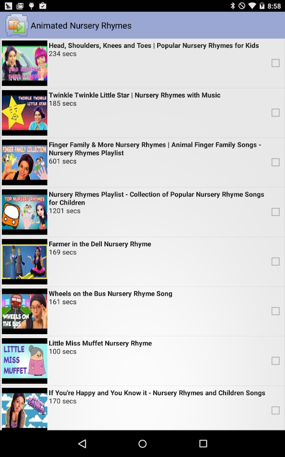 Kids Place Video Player - screenshot