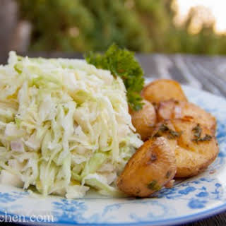 Creamy Apple Cole Slaw - Салат с Капусты.