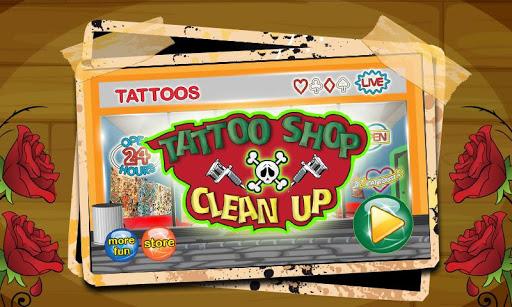 玩免費角色扮演APP|下載クリーンアップ - 洗浄タトゥー ショップ app不用錢|硬是要APP