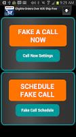 Screenshot of Fake-A-Call Free