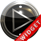 Poweramp Widget Black Silver icon