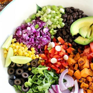 Tex Mex Sweet Potato Salad