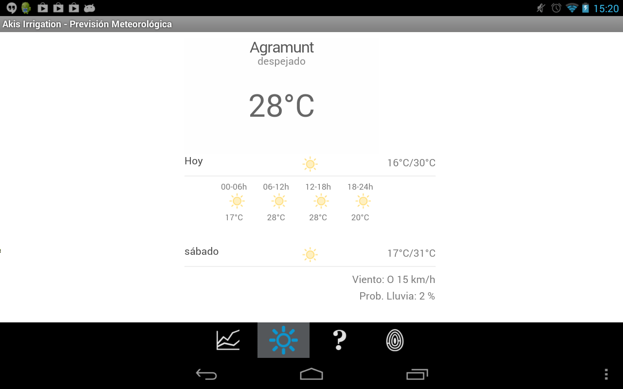 Akis Irrigation- screenshot