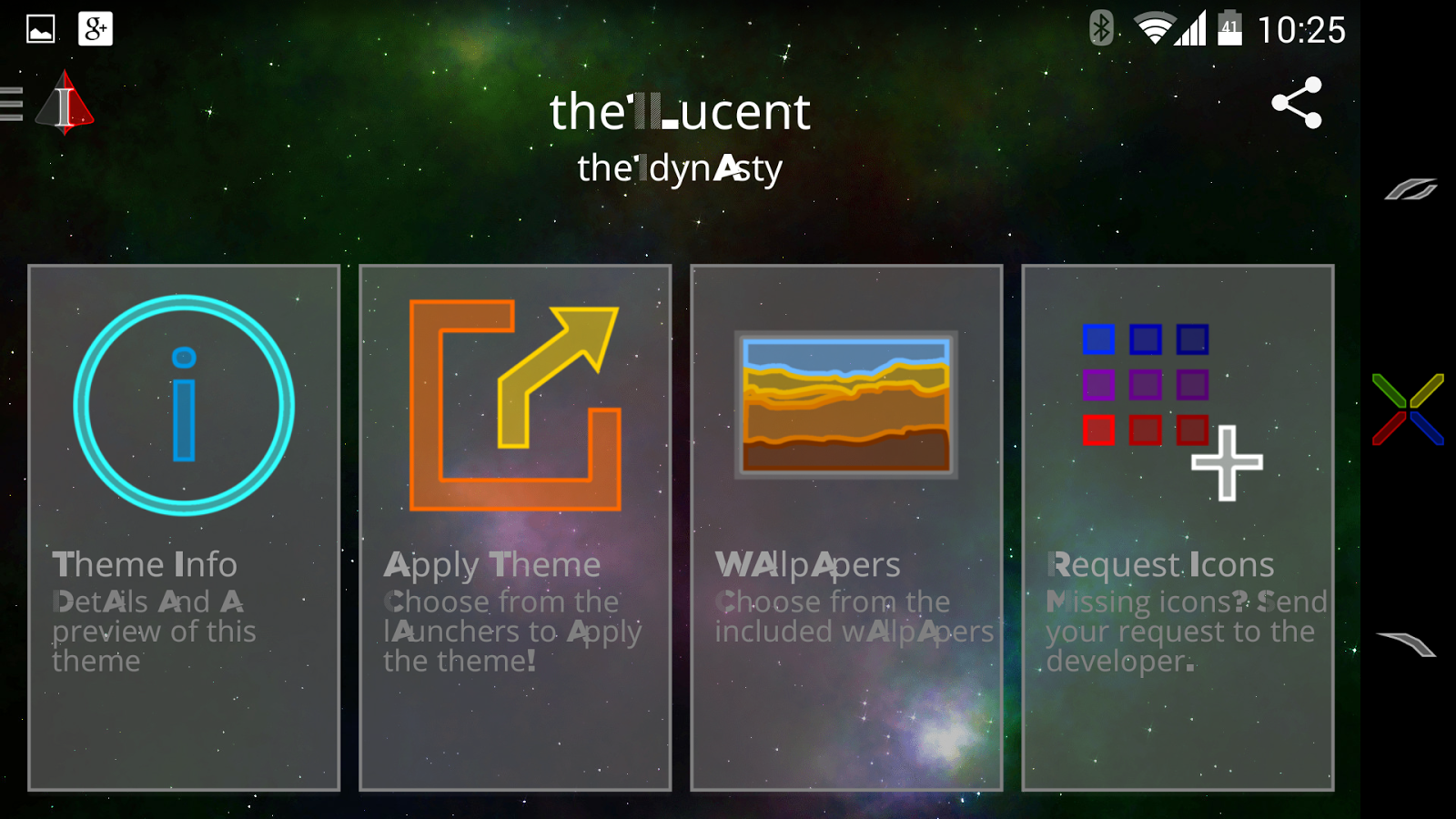 the1Lucent Icon Theme - screenshot
