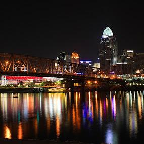 Reflections.. by Mili Shrivastava - City,  Street & Park  Night ( , city, night, Urban, City, Lifestyle, city at night, street at night, park at night, nightlife, night life, nighttime in the city )