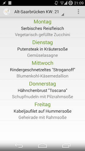 【免費旅遊App】htw Saar Mensa (inoffiziell)-APP點子