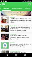 Screenshot of Zero Hora