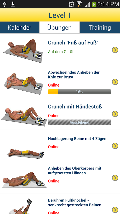 Bauchmuskeln In 8 Minuten Android Apps Auf Google Play