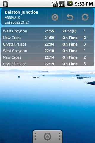 Train Times UK - screenshot