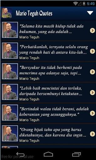 【免費書籍App】Kutipan Bijak Mario Teguh-APP點子