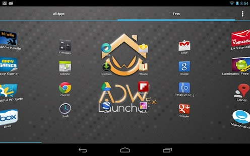 ADWLauncher EX- screenshot thumbnail