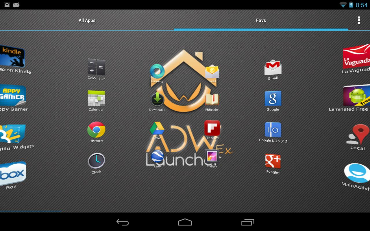 ADWLauncher EX - screenshot