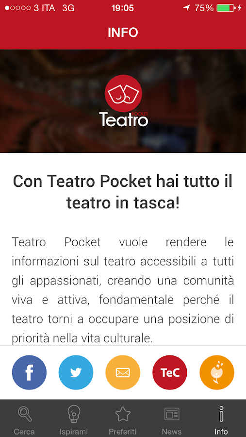 Teatro Pocket- screenshot