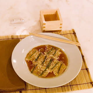 Nobu's New Style Sashimi.