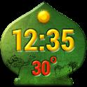 Árabe Widget Del Tiempo Reloj icon