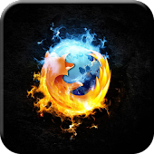 Firefox Flame Live Wallpaper