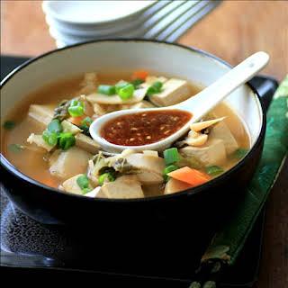 Vegan Crockpot Chinese Hot Pot.