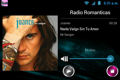Radio Románticas - screenshot