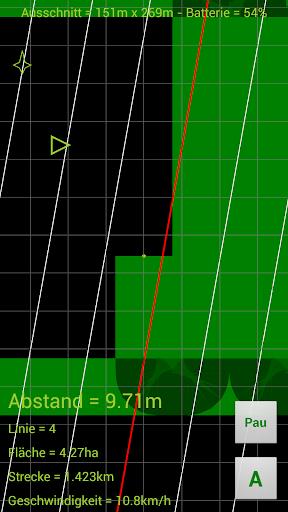 GPS Parallelfahrhilfe