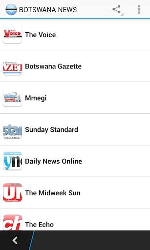 Botswana News Papers