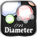 Durchmesser - ON DIAMETER icon