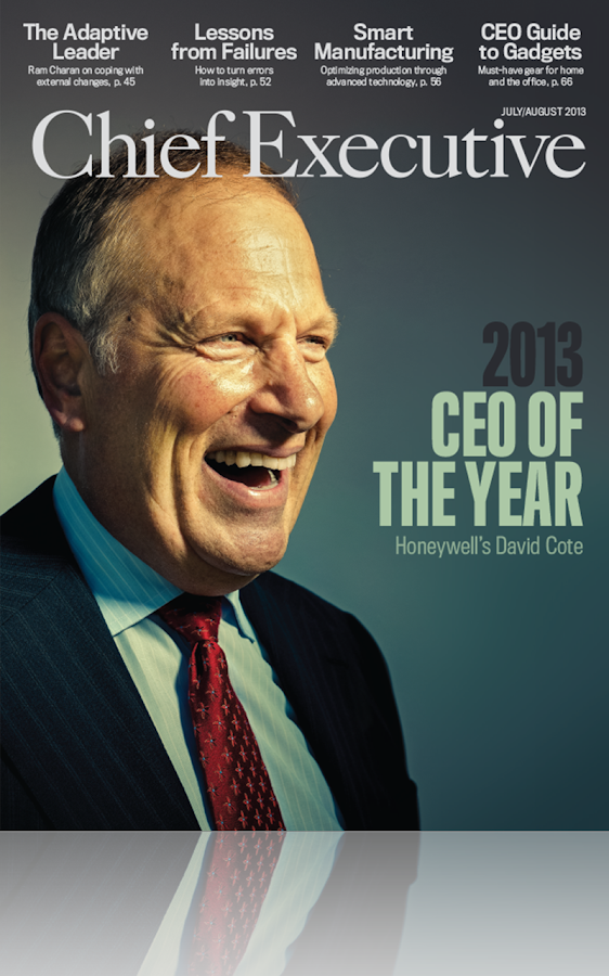 Chief Executive Magazine- screenshot