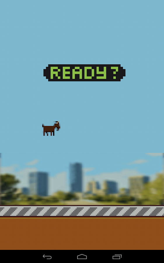 Flappy Goat- screenshot