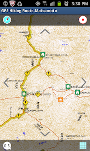GPS Hiking Route-Matsumoto- screenshot thumbnail