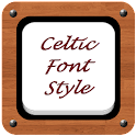 Celtic Font Style icon