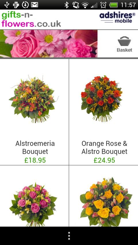 Flowers Shop - UK Delivery- screenshot