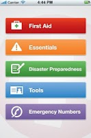 Screenshot of GotoAID First Aid Lite