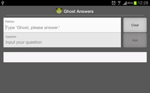 Ghost Answers - screenshot thumbnail