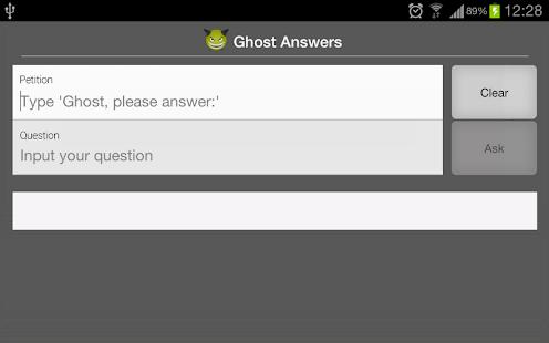 Ghost Answers - screenshot thumbnail