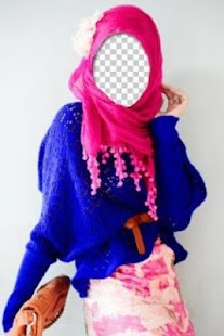 玩攝影App|Hijab Woman Photo Camera免費|APP試玩
