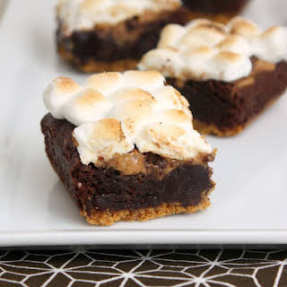 Peanut Butter S'mores Brownies.