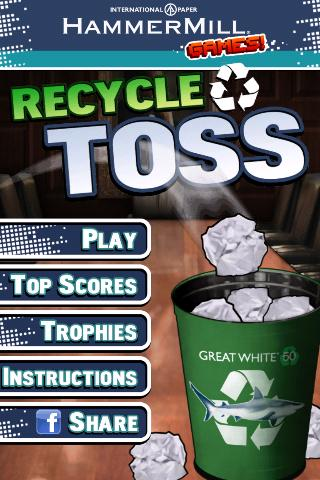 Recycle Toss- screenshot