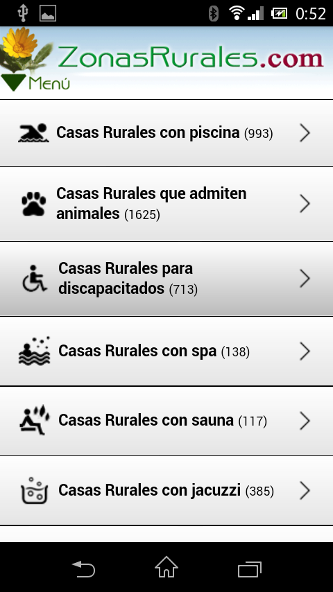 Casas Rurales en Zonas Rurales- screenshot