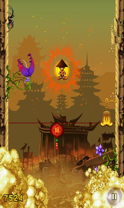 Shaolin Jump- screenshot
