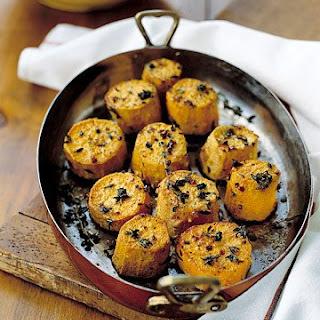 Herb-Roasted Sweet Potatoes.