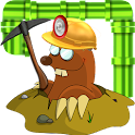Brain Game Gold Miner Pipes icon