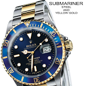 VIRTUAL ROLEX SUBMARINER BLUE