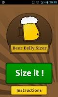 Screenshot of Beer Belly Sizer