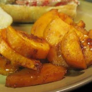 Cinnamon Roasted Sweet Potatoes.