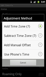 SMS Time Fix - screenshot thumbnail