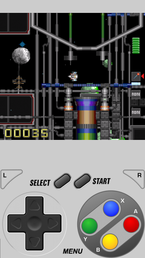 SuperRetro16 Lite (SNES)- screenshot