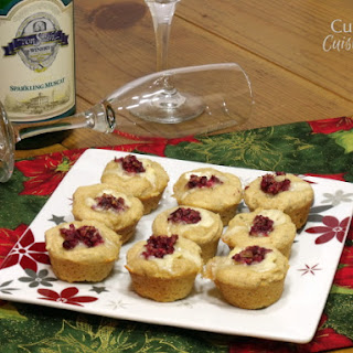 Cranberry Brie Biscuit Bites