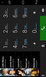 ExDialer Simp for AMOLED Theme - screenshot thumbnail
