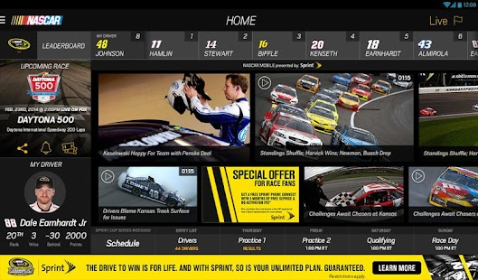 NASCAR MOBILE Screenshot 18